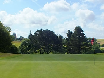Views towards the Church from the Golf Course