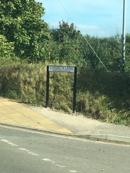 Photo Gallery Image - Church Lane Sign